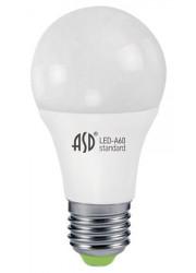 Лампа светодиодная LED-A60-standard 7Вт 160-260В E27 3000К 630лм ASD 4690612001692