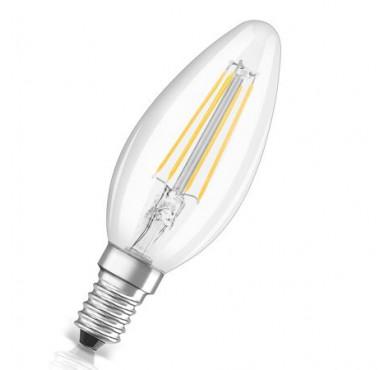 Лампа светодиодная LED STAR CLASSIC B 40 4W/827 230V FIL E14 FS1 OSRAM 4058075068353