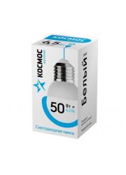 Лампа светодиодная LED BASIC GL45 6.5Вт 220В E27 4500К Космос LkecLED6.5wGL45E2745