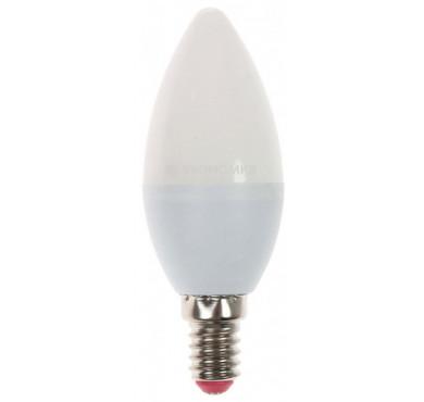 Лампа светодиодная LED 9Вт Свеча E14 230В 4500К 850лм ЭКОНОМКА Eco_LED9wCNE1445