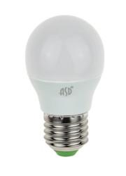 Лампа светодиодная LED-шар-standard 7.5Вт 160-260В E27 3000К 675лм ASD 4690612003986