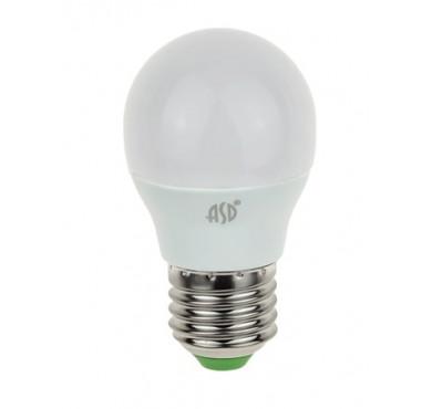 Лампа светодиодная LED-шар-standard 7.5Вт 160-260В E27 4000К 675лм ASD 4690612003993