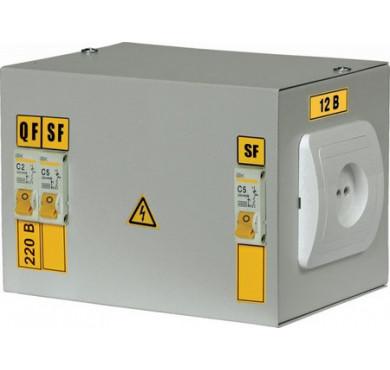 Ящик с понижающим трансформатором ЯТП 0.25 220/36B (3 авт. выкл.) ИЭК MTT13-036-0250