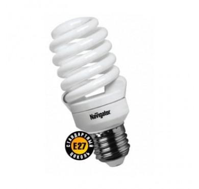Лампа люминесцентная компакт. 94 294 NCL-SF10-20-827-E27 20Вт E27 спиральная 2700К Navigator 18172