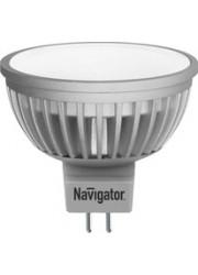 Лампа светодиодная 94 129 NLL-MR16-5-230-4K-GU5.3 5Вт 4000К белый GU5.3 380лм 170-260В Navigator 18578