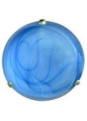 Светильник НПБ 01-2х60-139 Дюна d300 М16 2х60Вт E27 IP20 голуб/хром клипса Элетех 1005150634