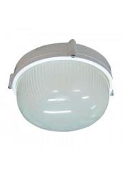 Светильник НПП 03-60-013 Банник 1301 круг малый белый матовый IP65 Элетех 1005500934