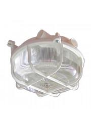 Светильник НПП 03-100-007 Креа круг IP44 с решеткой белый Элетех 1005500877