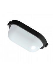 Светильник НПП 03-60-021 Банник 1401 овал малый черный матовый IP65 Элетех 1005500940