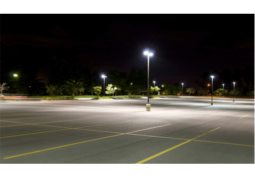 Выбор нового освещения для парковки