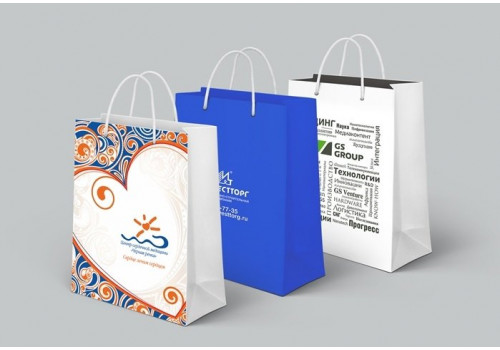 Печатные бумажные пакеты: новые возможности рекламы