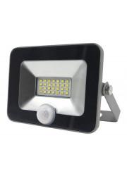 Прожектор светодиодный PFL-C-SMD-20w sensor LED 20Вт IP54 6500К JazzWay 5001459A