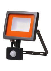 Прожектор светодиодный PFL-SC-SMD-30Вт sensor LED 30Вт IP54 6500К мат. стекло JazzWay 5001411
