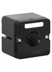 Пост кнопочный ПКЕ-222/1 кнопка Пуск черн. Электродеталь ПКЕ-222/1.1Ч.П