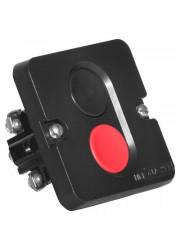 Пост кнопочный ПКЕ-612/2 Пуск-стоп 1 черн. 1 красн. Электродеталь ПКЕ-612/2.1Ч.1К