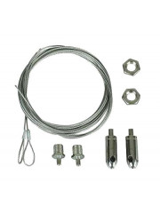 Комплект подвеса прямой для светильника LNB/LNK (2 троса+2 крепл.) 2м Световые Технологии 2901000240