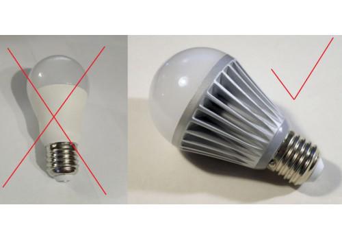 Правила выбора качественной светодиодной лампы для дома