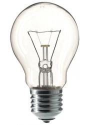 Лампа накаливания Стандарт А55 60Вт E27 220-240В прозр. КОСМОС LKsmSt55CL60E27v2