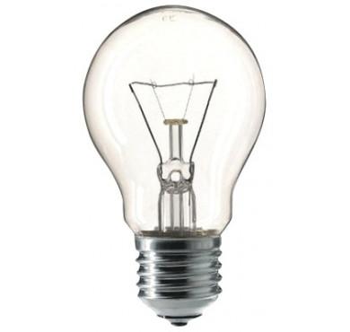 Лампа накаливания МО 60Вт E27 12В прозрач. КЭЛЗ 8106002