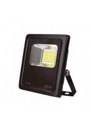 Прожектор светодиодный LED 10Вт IP65 6500К черный Gauss 613100310