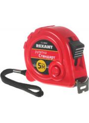 Рулетка измерительная Стандарт 5мх25мм Rexant 12-9002