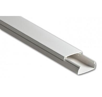 Кабель-канал 12х12 L2000 пластик с двойным замком УралПак КК-19012012-200