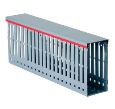 Кабель-канал перфорированный RL75 15х30 G (дл.2м) ДКС 00672RL
