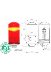 Светильник сигнальный Заградительный огонь СДЗО-05-1