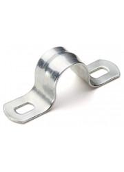 Скоба креп. металлическая оцинк. двухлапковая d16мм ДКС 53354