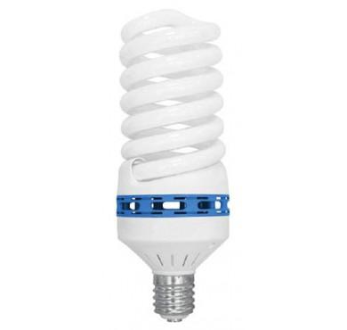 Лампа люминесцентная компакт. SPC 85Вт E40 спиральная 4200К T5 ЭКОНОМКА LKsmT5SPC85WE4042eco