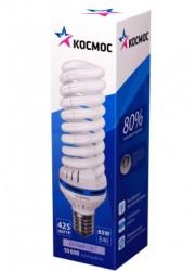 Лампа люминесцентная компакт. SPC 85Вт E40 спиральная 4200К КОСМОС LKsmT5SPC85WE4042_m