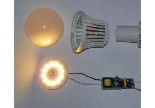 Светодиодная лампа мерцает при выключенном свете, устраняем причины