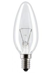 Лампа накаливания ДС 230-40Вт E14 КЭЛЗ 8109001