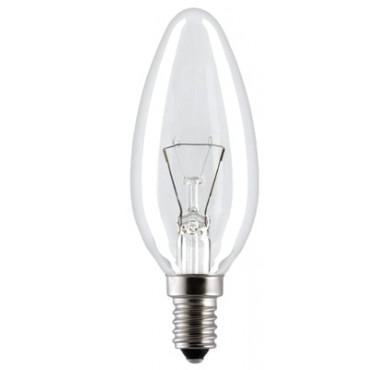 Лампа накаливания Свеча 60Вт E14 прозр. Космос LKsmSCnCL60E14v2