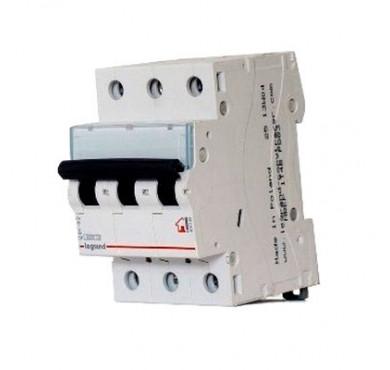Автоматический выключатель TX3 3п C 40А 6кА Legrand