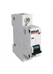 Автоматический выключатель ВА-101 1п B 16А 4.5кА DEKraft