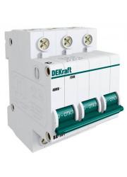 Автоматический выключатель ВА-101 3п C 25А 4.5кА DEKraft