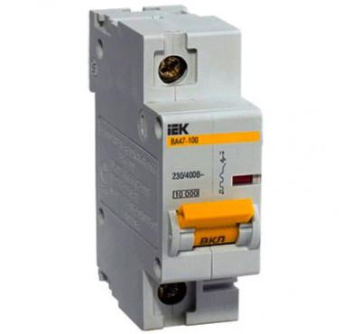 Автоматический выключатель ВА47-100 1P C 32 А ИЭК