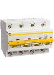 Автоматический выключатель ВА47-100 4P D 100 А 10кА ИЭК MVA40-4-100-C
