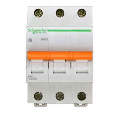 Автоматический модульный выключатель 3п C 25А ВА63 Домовой 4.5кА SchE 11225