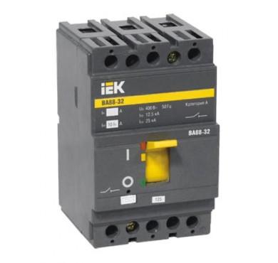 Автоматический выключатель 3п 32А ВА 88-32 ИЭК SVA10-3-0032