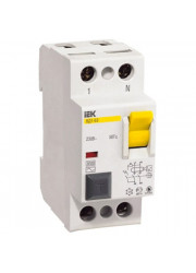 Выключатель диффер. тока 2п 100A 30mA тип AC ВД1-63 ИЭК
