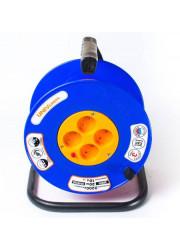 Удлинитель ВЕМ-250 4х20м на катушке термо ПВС 2х0.75 UNIVersal 9634146