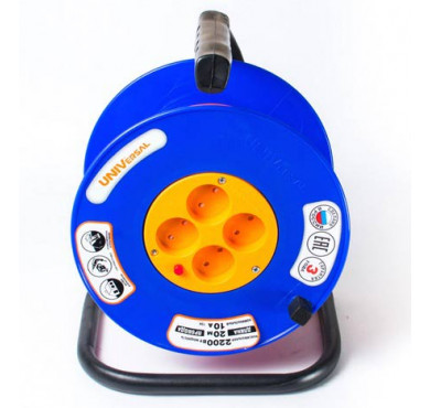 Удлинитель ВЕМ-250 4х50м на катушке термо ПВС 2х0.75 UNIVersal 9634150