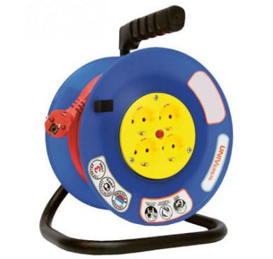 Удлинитель ВЕМ-250 4х30м на катушке термо ПВС 3х1,5 UNIVersal 9634157