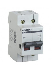 Выключатель нагрузки 2п ВН-32 40А GENERICA ИЭК MNV15-2-040