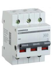 Выключатель нагрузки 3п ВН-32 25А GENERICA ИЭК MNV15-3-025