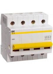 Выключатель нагрузки ВН-32 100А 4п ИЭК MNV10-4-100