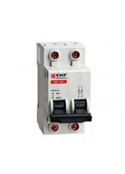 Выключатель нагрузки ВН-63 2п 25А PROxima ЭКФ SL63-2-25-pro