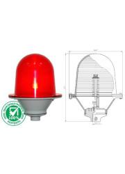 Светильник сигнальный Заградительный огонь ЗОМ-2-АВ антивандальный